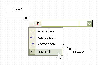 Staruml 50 user guide modeling with class diagram procedure for creating element having directed association by shortcut creation syntax ccuart Choice Image